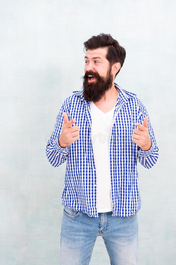 Feel cosy in denim look. Male casual fashion style. barber care for real men. brutal hipster with mustache. Mature royalty free stock images