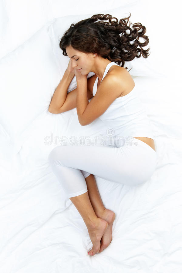 Feel like sleeping royalty free stock photography