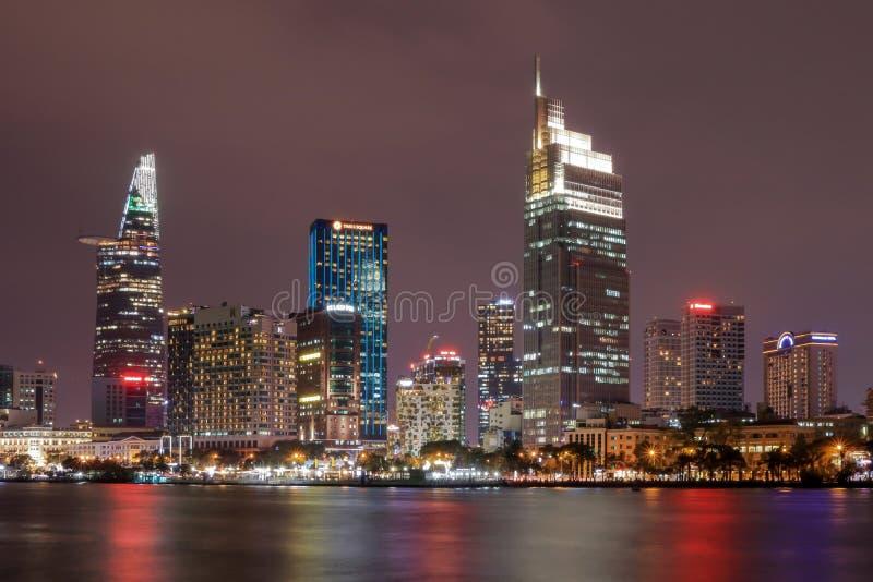 Saigon river, ho chi minh city, viet nam royalty free stock photography