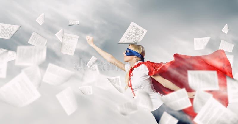 Feel yourself a hero! royalty free stock photos