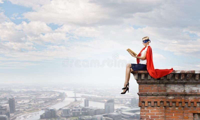 Feel yourself a hero! stock image