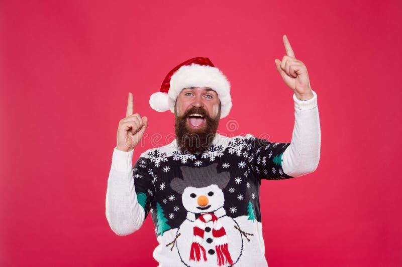 Feeling awesome successful cheerful. Christmas celebration. Having fun. Happiness and joy. Celebration time. Emotional royalty free stock photo