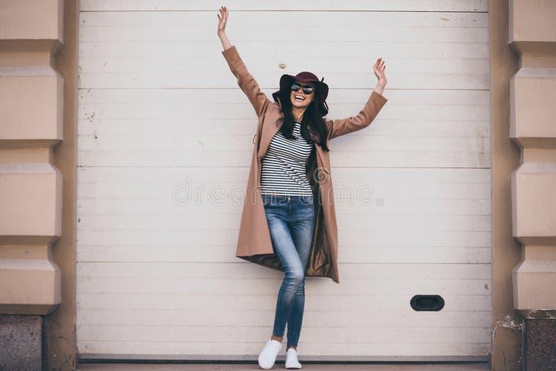 Feeling carefree. stock image