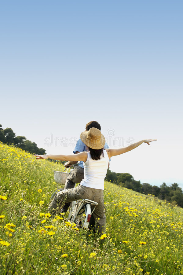 Download Feeling free stock photo. Image of blue, vacation, vibrant - 4133522