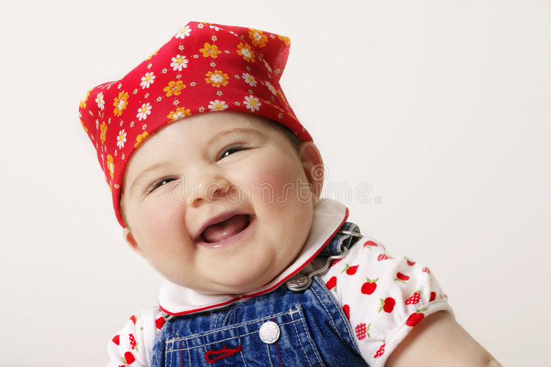 Download Feeling Happy? stock image. Image of kidspics, innocence - 70041