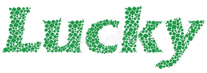 Download Feeling lucky stock vector. Illustration of green, luck - 18449629