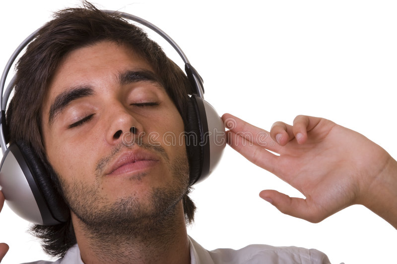 Download Feeling the music stock image. Image of finger, personal - 6451753