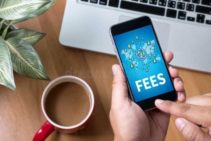 FEES stock images
