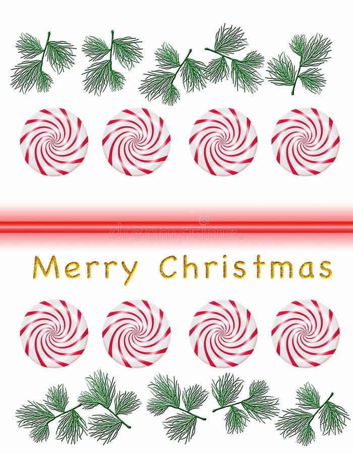 Feest van Kerstmis stock illustratie