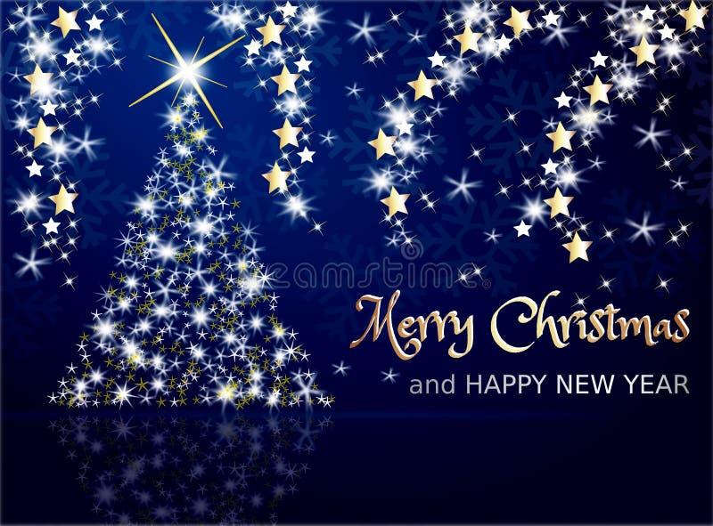 Feest van Kerstmis royalty-vrije illustratie