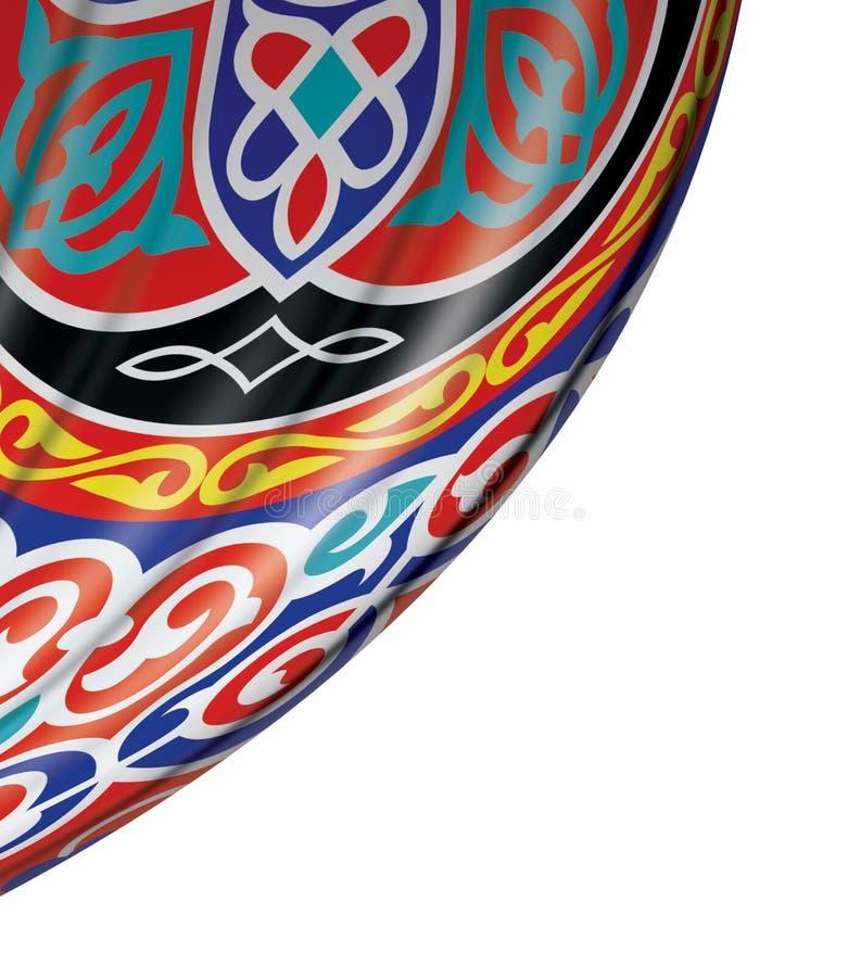 Feestelijk Ramadan Curtain stock illustratie