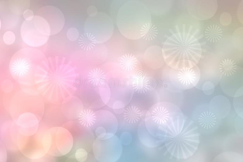 Feestelijke achtergronden Een feestelijke pastelkleur abstracte Gelukkige Nieuwjaar of van de Kerstmistextuur achtergrond en met  royalty-vrije stock foto