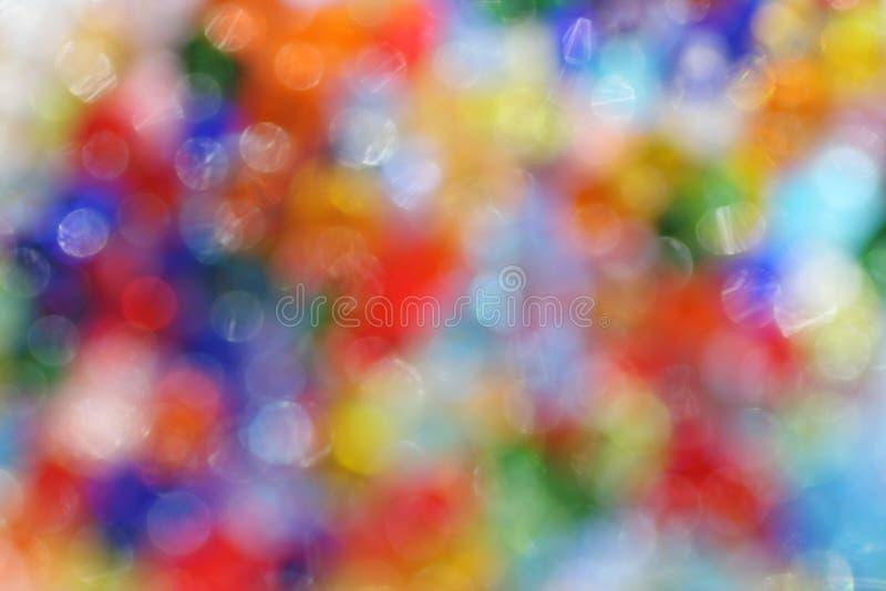 Feestelijke kleurrijke bokeh stock afbeeldingen