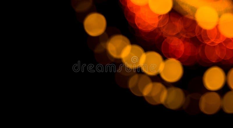 Feestelijke Mooie abstracte Achtergrond met bokehlichten stock afbeelding