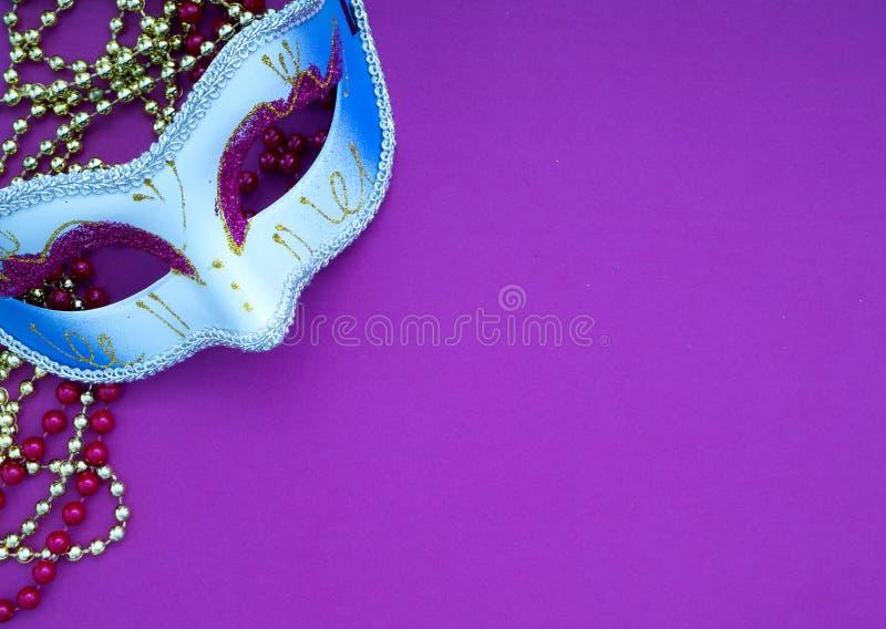 Feestelijke Venetiaanse carnivale van mardigras stock foto