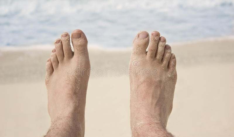 Download Feet on beach stock image. Image of chill, leissure, sunbathing - 11041663