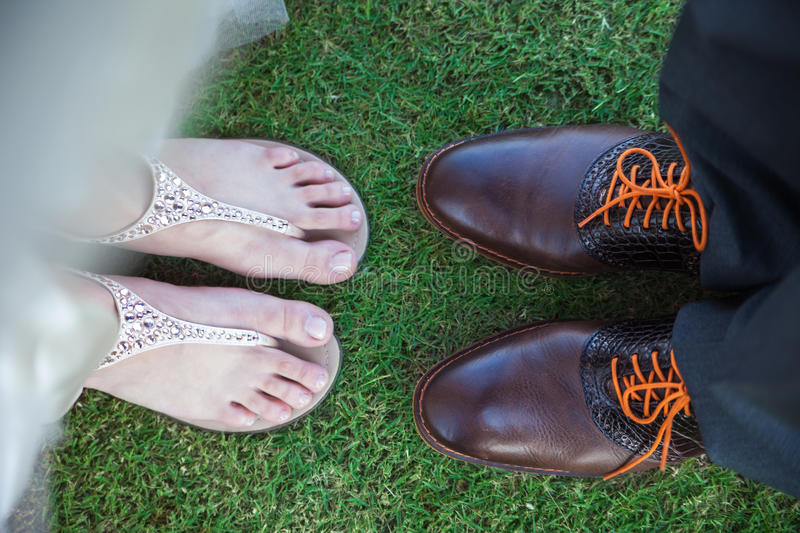 Download Feet of bride and groom stock image. Image of details - 28069523