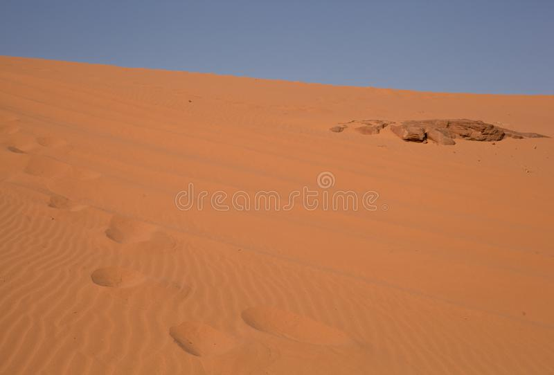 The desert - Jordan royalty free stock photo