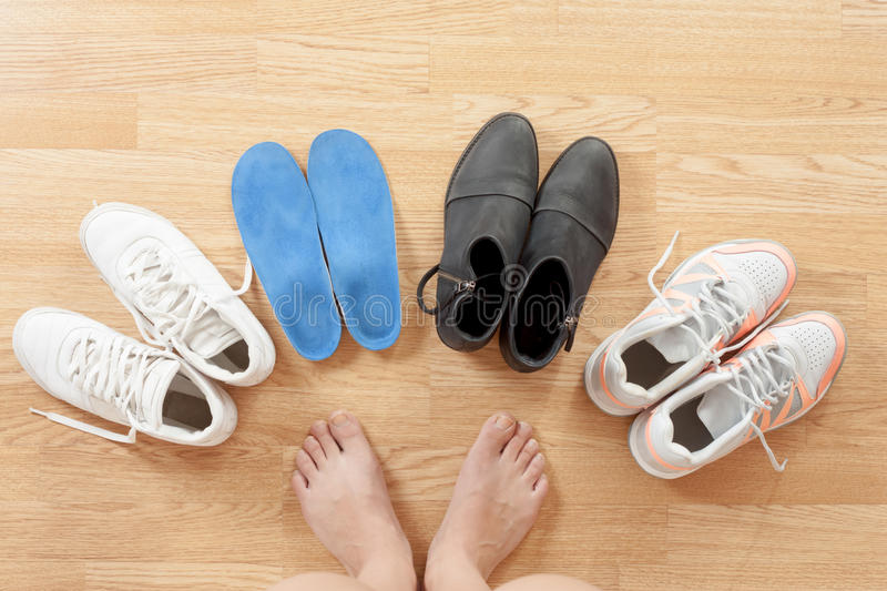 Feet royalty free stock images