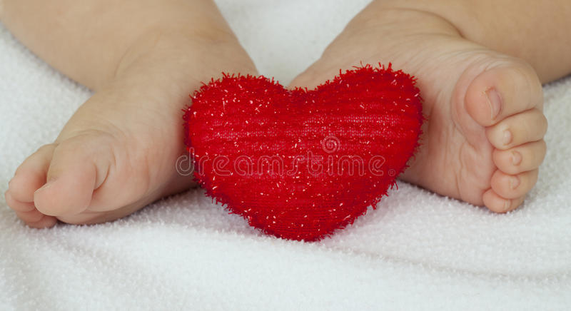 Download Feet and heart stock image. Image of nails, white, small - 12111479