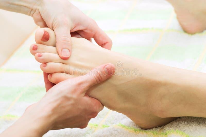 Feet Massage Stock Photos