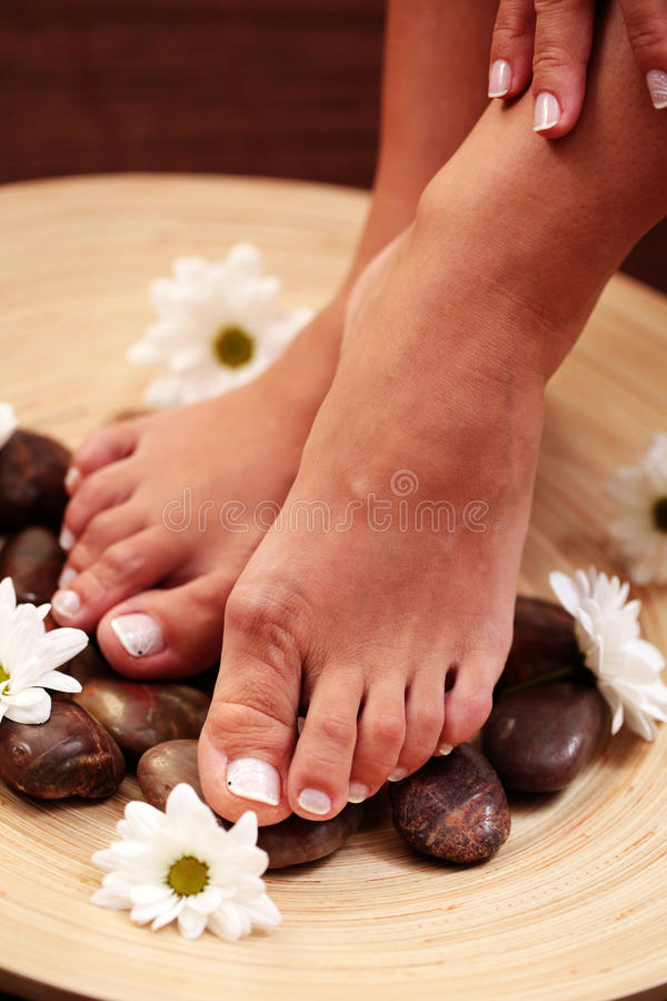 Download Feet and pebbles stock image. Image of wellbeing, health - 10655237