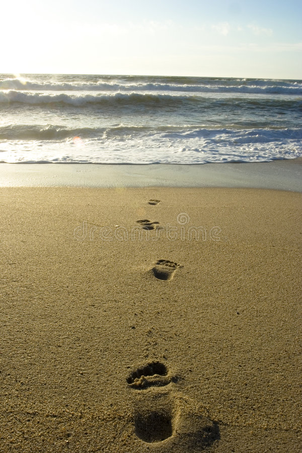Download Feet in the sand stock photo. Image of mediterranean, waves - 6575672