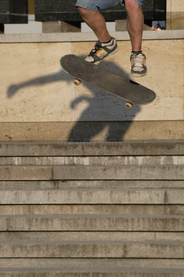 Feet and skate stock photos