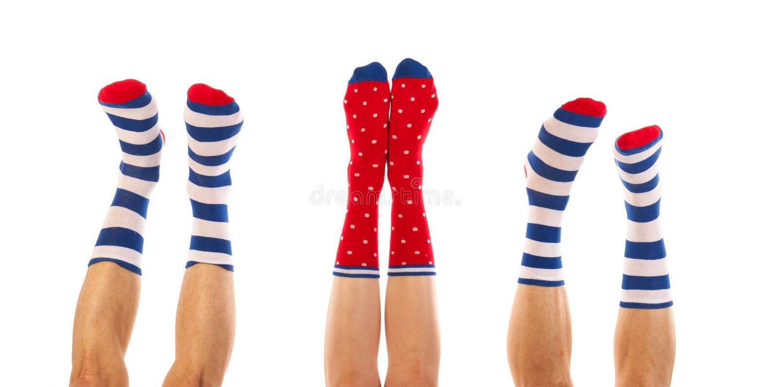 Download Feet in socks stock image. Image of funny, socks, people - 32437999