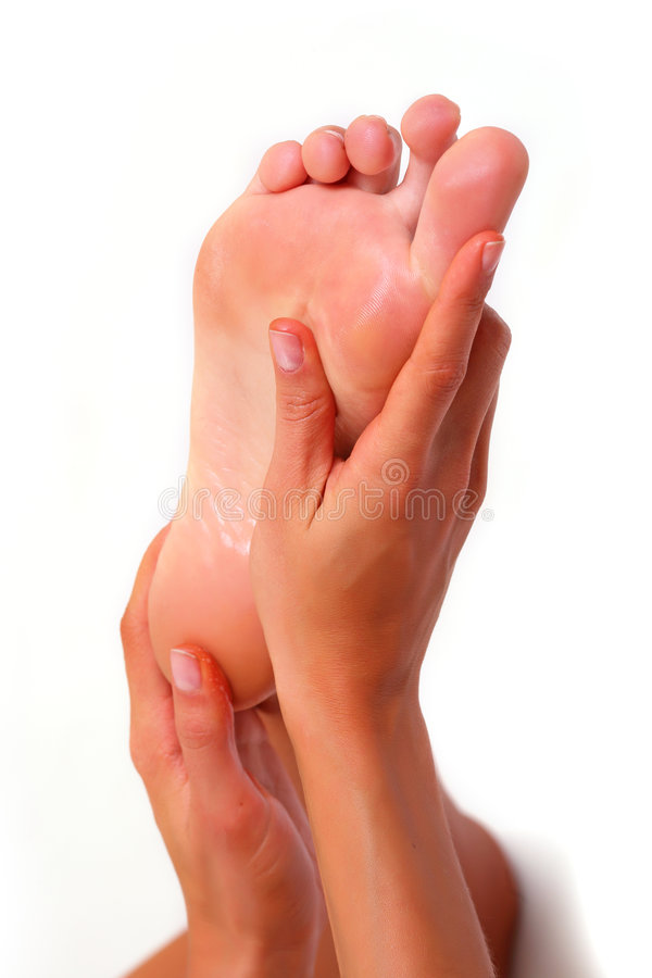 Feet and SPA stock photography