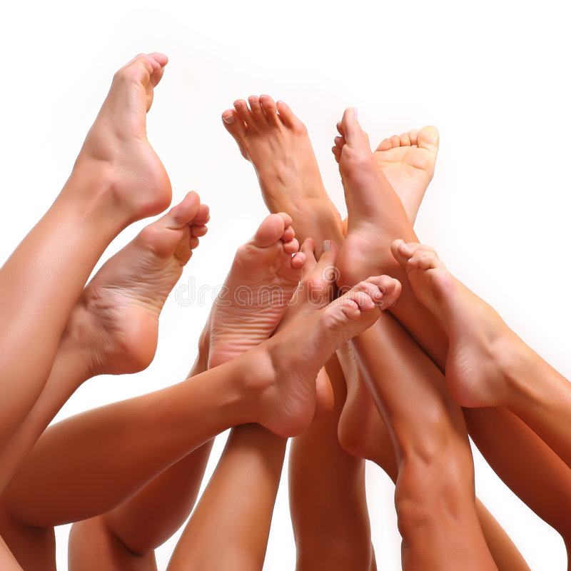 Feet and SPA royalty free stock photo