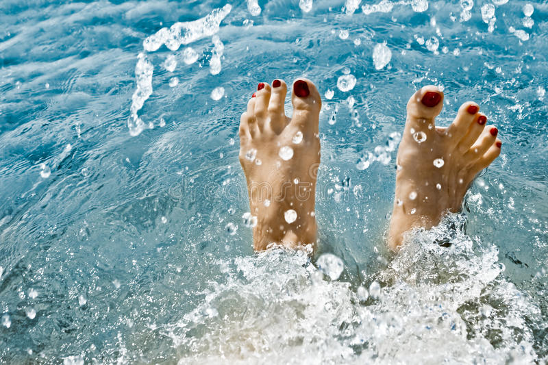 Download Feet in Water stock photo. Image of foot, healthy, beautiful - 10241260