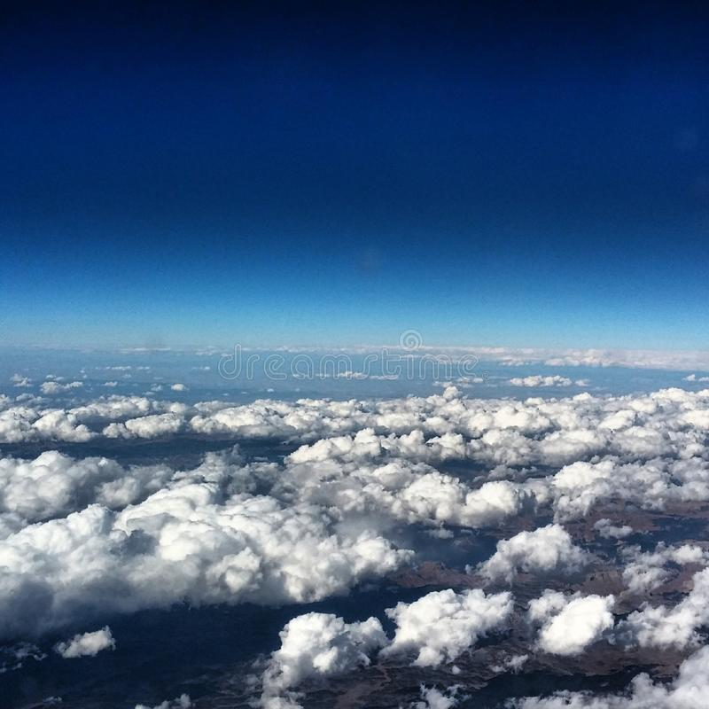 30,000 Feet. stock images