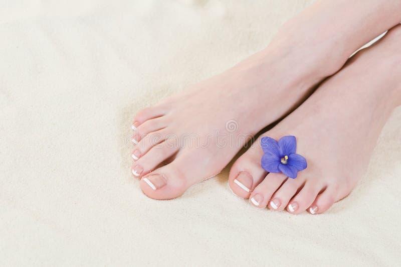 Feets stock afbeelding
