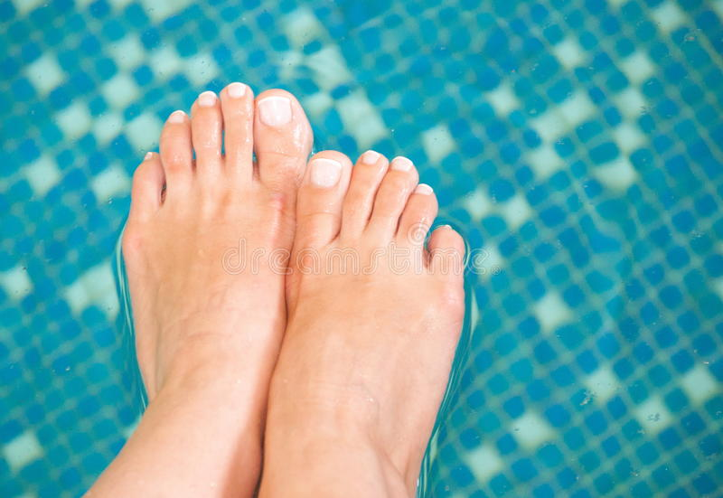 Feets royalty free stock photography