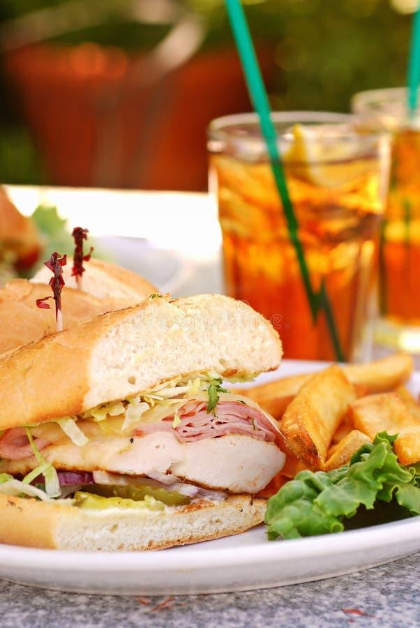 feg kedjasmörgås för bleu royaltyfri fotografi