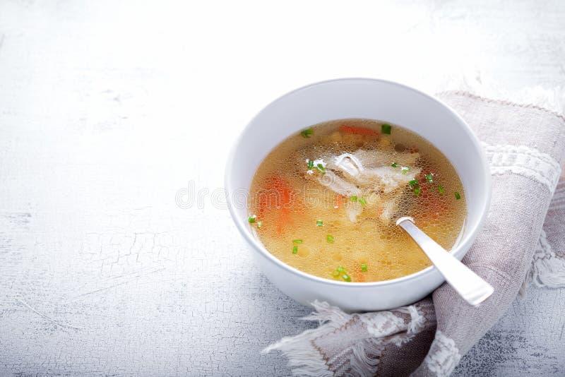 feg ny soup royaltyfri bild