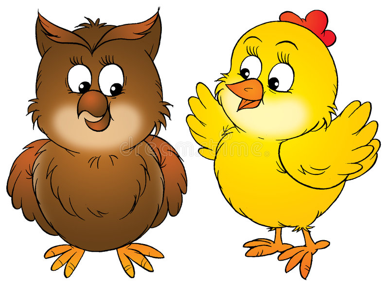 feg owl royaltyfri illustrationer