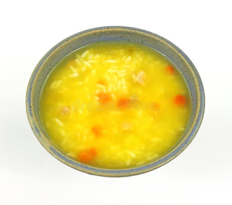 feg ricesoupgrönsak royaltyfri fotografi