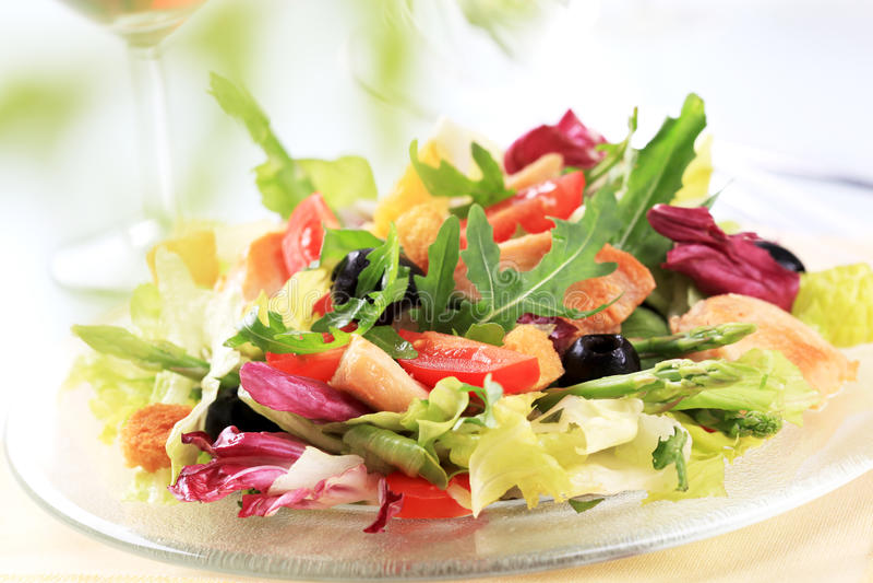 feg salladgrönsak fotografering för bildbyråer