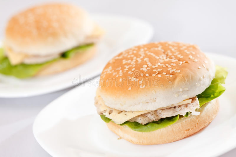 Feg smörgås arkivbilder