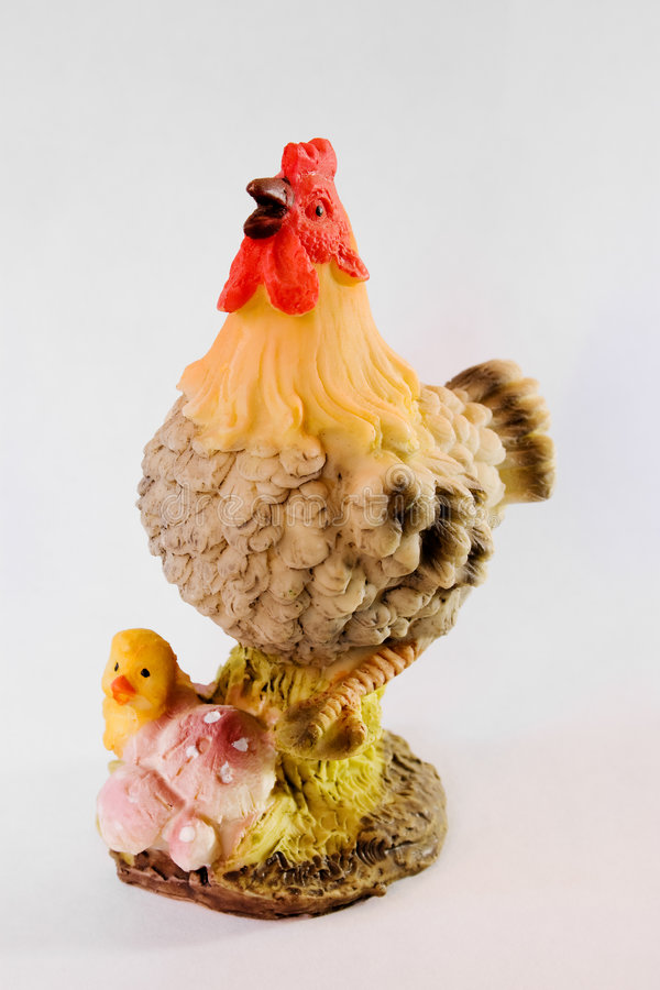 feg statuette för fågelunge royaltyfria foton