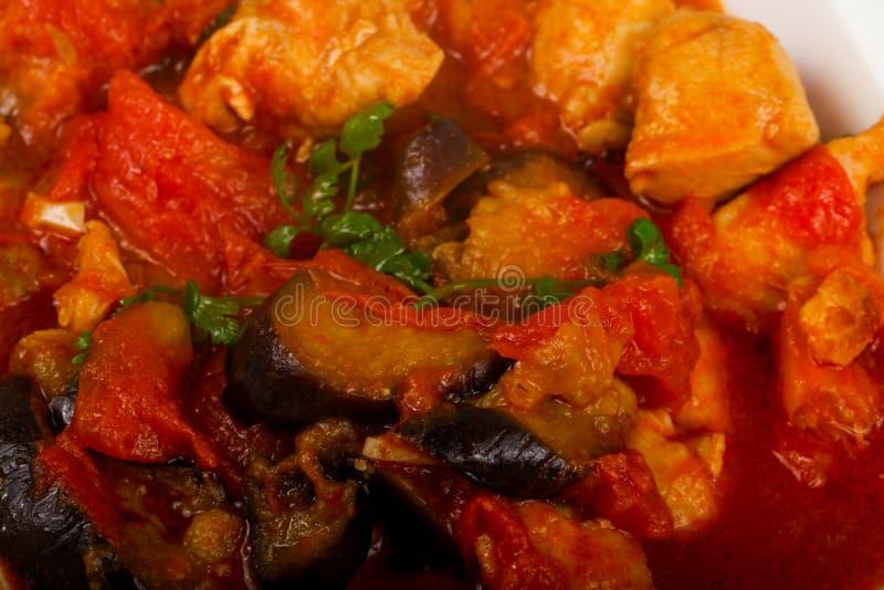 Feg thail?ndsk curry arkivfoton