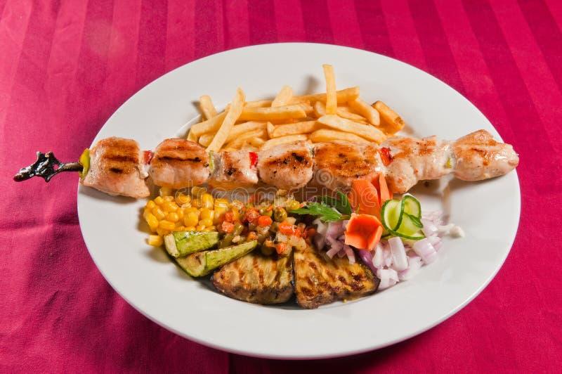 fega kebabs royaltyfri foto