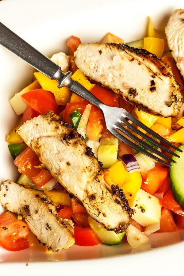 fega meatgr?nsaker Marinad för chilipeppar grillad mat Protein bantar Mat f?r idrottsman nenar arkivbilder