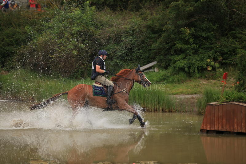 """FEI World Cupâ""""¢ Eventing Qualifier 2011. stock images"""