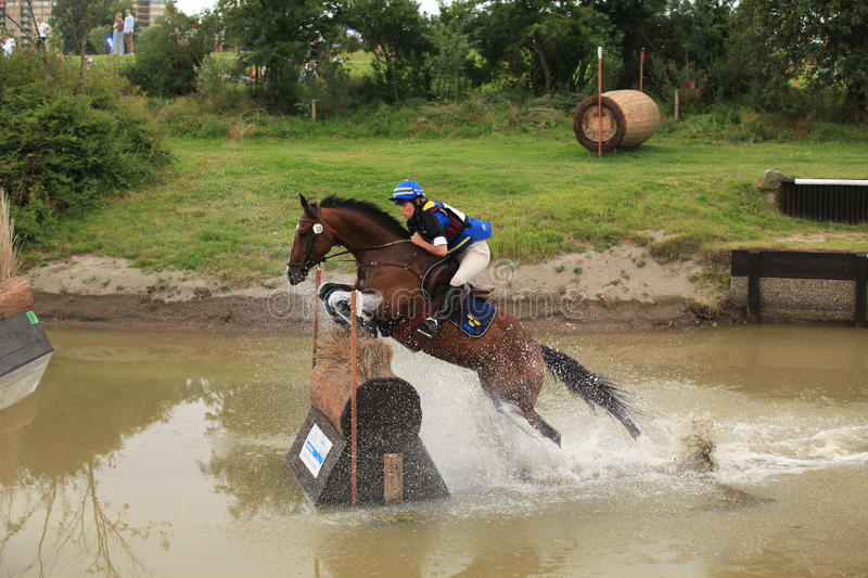 """FEI World Cupâ""""¢ Eventing Qualifier 2011, Sweden. royalty free stock photography"""