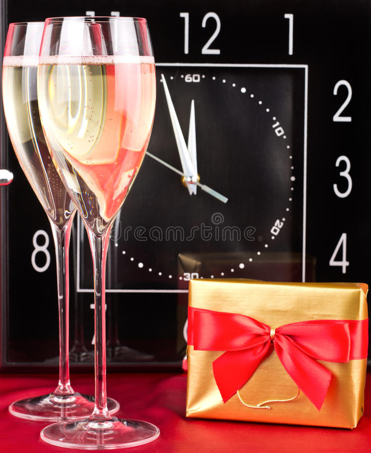 Feier des neuen Jahres. lizenzfreie stockbilder