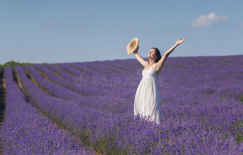 Feiern der Schönheit des Lebens stockfotos