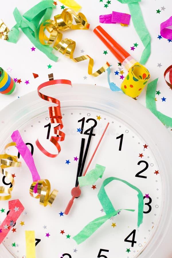 Feiern des neuen Jahres lizenzfreies stockbild